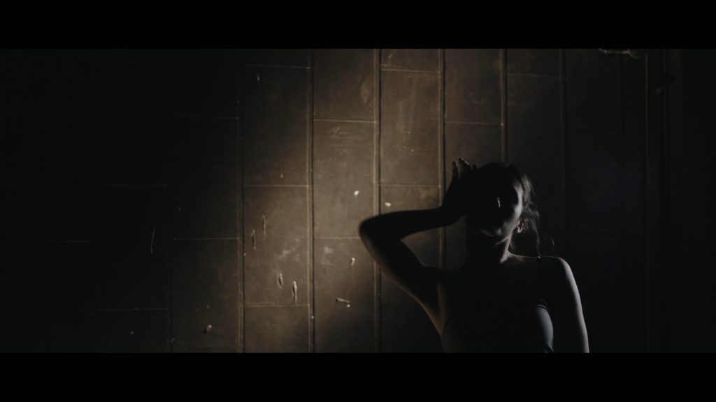 Dancer in dim lighting